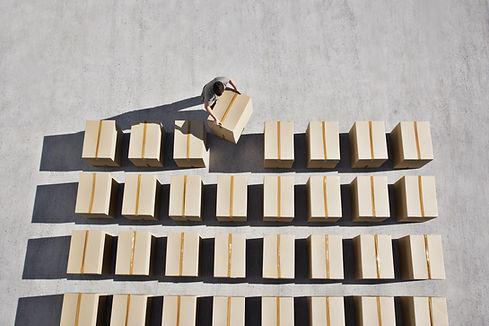 Leverans av Boxes