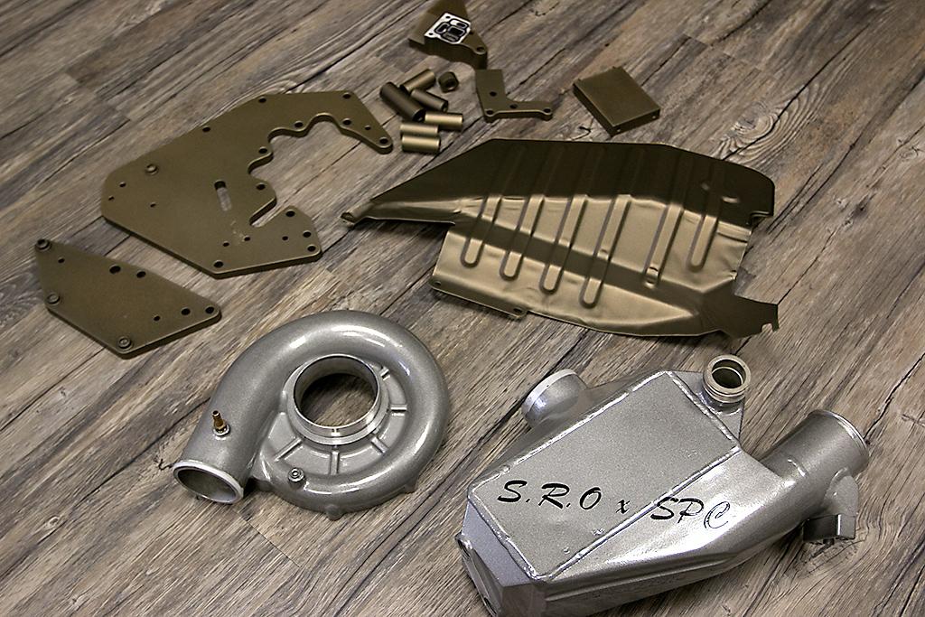 Volk Bronze & Tinted Clear
