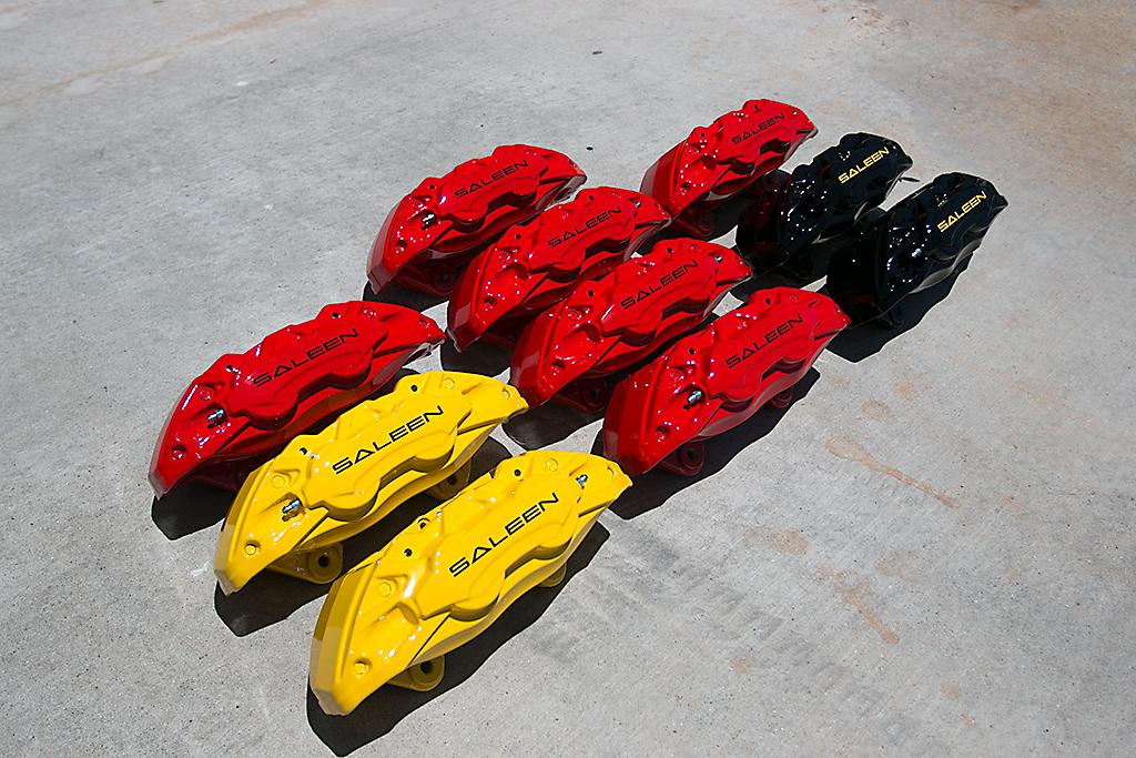 Mirror black, Mirror Yellow, Red