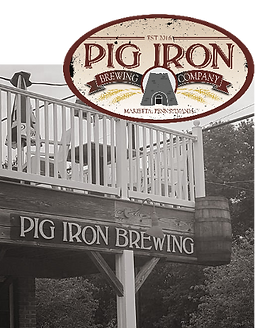 Pig Iron Brewing Company is a Marietta mircobrew that specializes in barbecue
