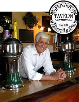 Shank's Tavern is a historic Marietta bar and features rotating taps and daily food specials