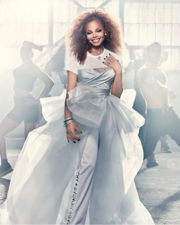 Janet Jackson for Essence Magazine