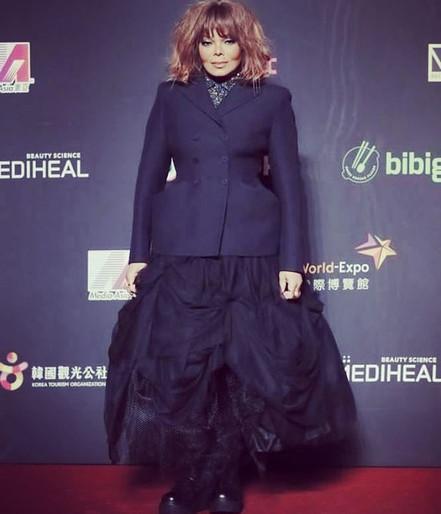 Janet Jackson @ 2018 Mnet Asian Music Awards