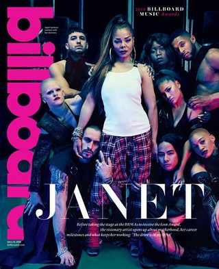 Janet Jackson for Billboard Magazine