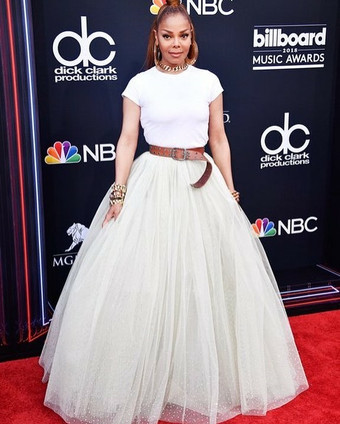 Janet Jackson at the Billboard Awards