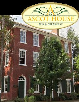 Ascot House is a bed & breakfast on West Market Street in Marietta
