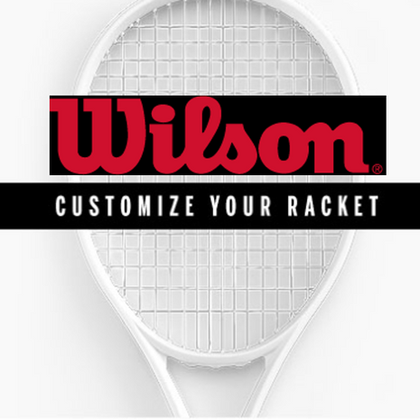 Wilson Customize Tennis Rackets