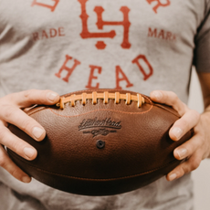 Custom-Made Vintage Leather Balls