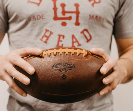Custom-Made Vintage Leather Balls