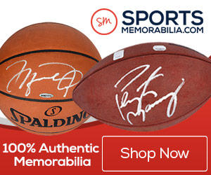 Autographed Sports Memorabilia & Authentic Game Used Items