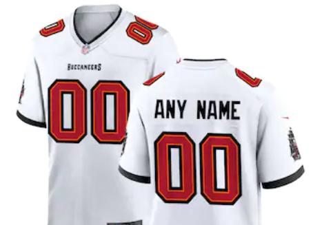 Custom Tampa Bay Buccaneers Jersey