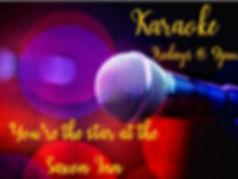 Karaoke Friday nights.JPG