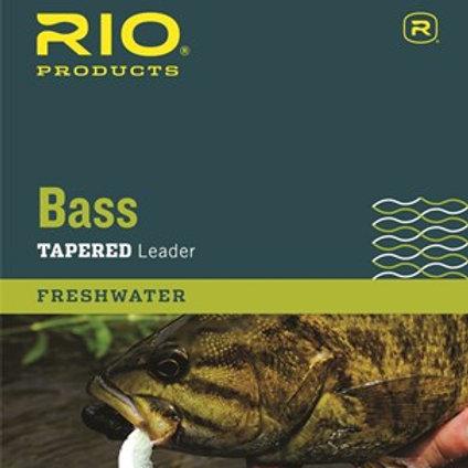 Rio Bass 9' Leader 3-Pack
