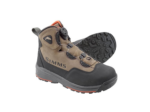 Simms Headwater Boa Wading Boot-Wetstone-Vibram Soles