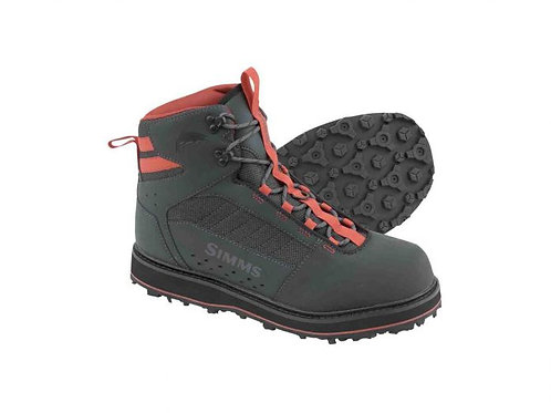 Simms Tributary Wading Boot-Carbon-Rubber Sole