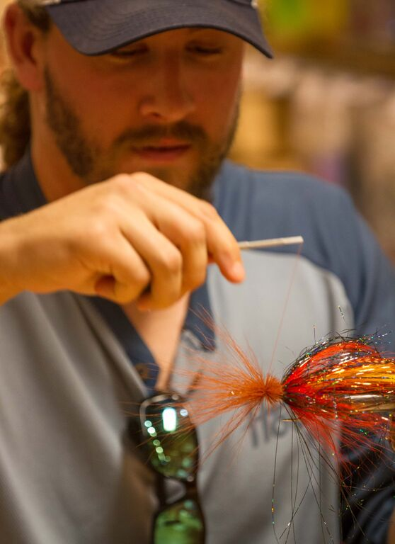 Fly tying classes