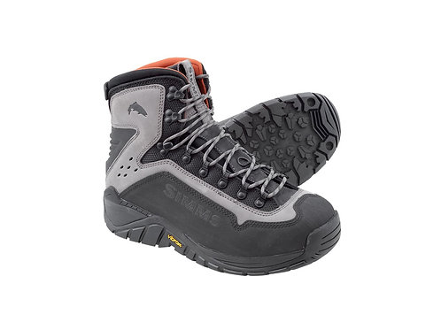 Simms G3 Guide Wading Boots-Seel Grey- Vibram Soles