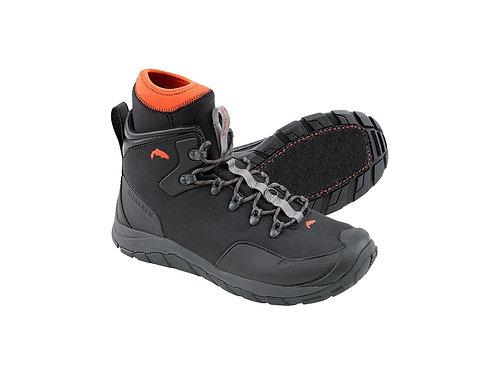 Simms Intruder Boots-Gunmetal- Felt Soles