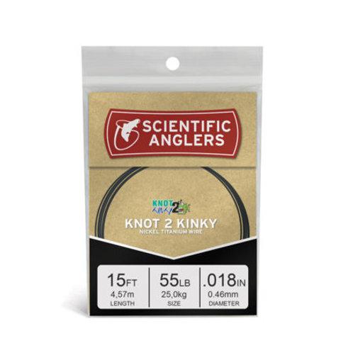Scientific Angler Knot 2 Kinky Wire