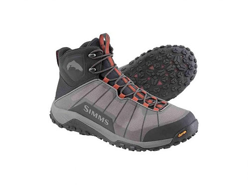 Simms Flyweight Wading Boot-Steel Grey-Vibram Sole