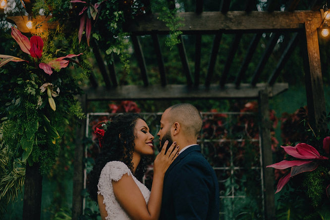 Tropical Inspired Wedding - YBDE