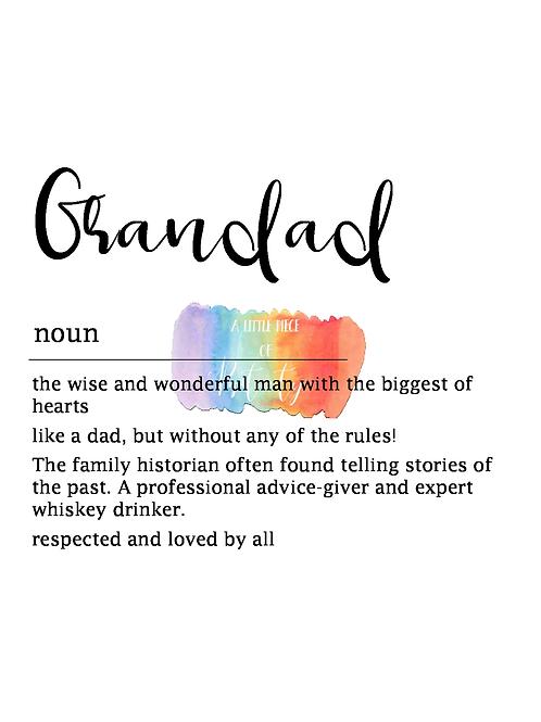 Grandad Definition
