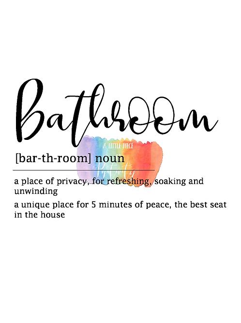 Bathroom Definition