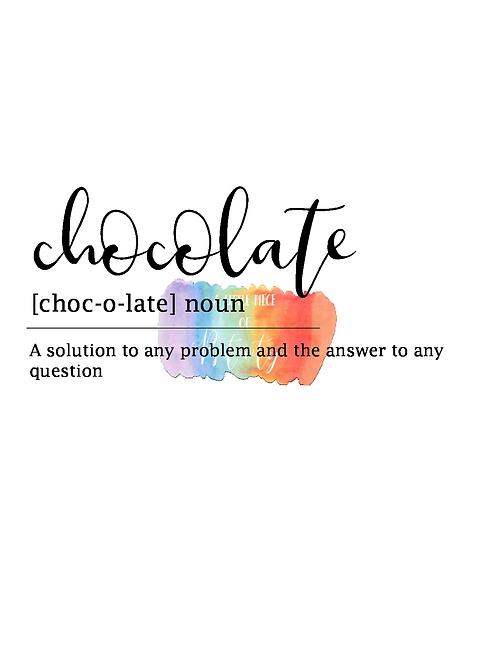 Chocolate Definition