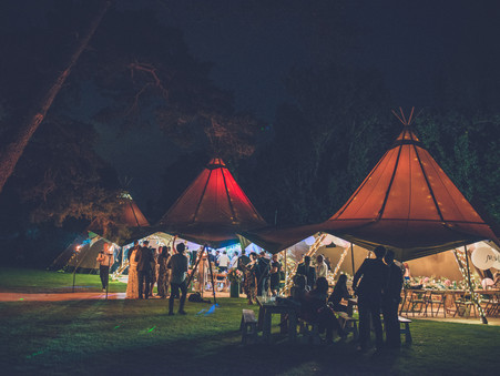How much does a wedding tipi cost?