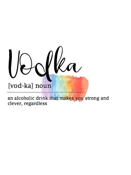 Vodka Definition