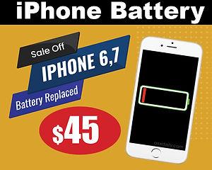 iphone 6, 7, 8 battery repair near me