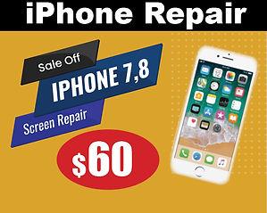 iphone repair 7, 8, X LCD Screen near me