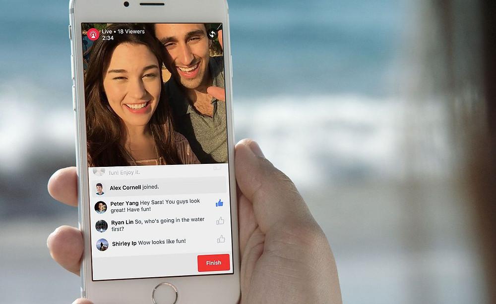 Facebook Live - Vídeos ao vivo no Facebook