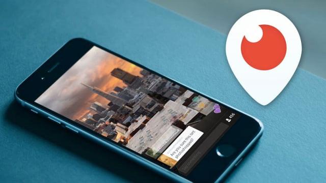 Periscope - Vídeos ao vivo - Redes Sociais