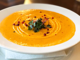 The Gabriel Archer Tavern's Roasted Corn and Crab Bisque
