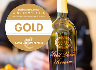 The Williamsburg Winery Earns Two Gold Medals at Prestigious National Wine Competition