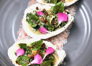 Rock-On With Oysters Rockefeller