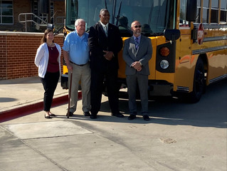 Everman Independent School District (ISD) Awarded by Texas Energy Summit for Electric School Buses