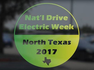 National Drive Electric Week (NDEW): Save the Date!