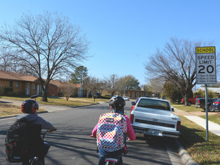 Making it Safer to Walk and Bicycle to School