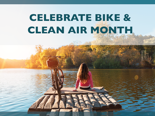 Clean Air and Bike Month