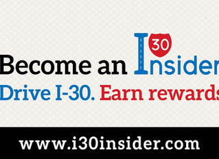Become an I-30 Insider to Start Earning Rewards