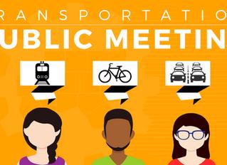 Transportation Public Meetings
