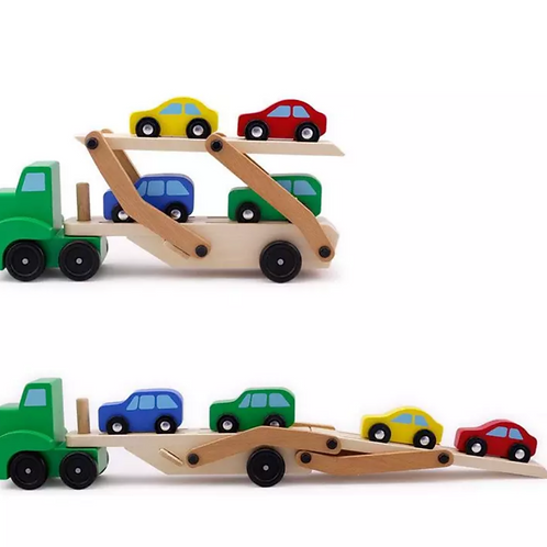 Transport Truck & Mini Car Set