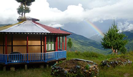 Rainbow in Pemaköd