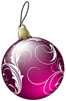 Beautiful_Pink_Christmas_Ball_PNG_Clipar