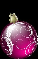 Beautiful_Pink_Christmas_Ball_PNG_Clipar