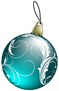 Beautiful_Blue_Christmas_Ball_PNG_Clipar