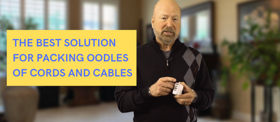 VIDEO - The Best Solution for Packing Oodles of Cords and Cables in Your Carry-On Bag