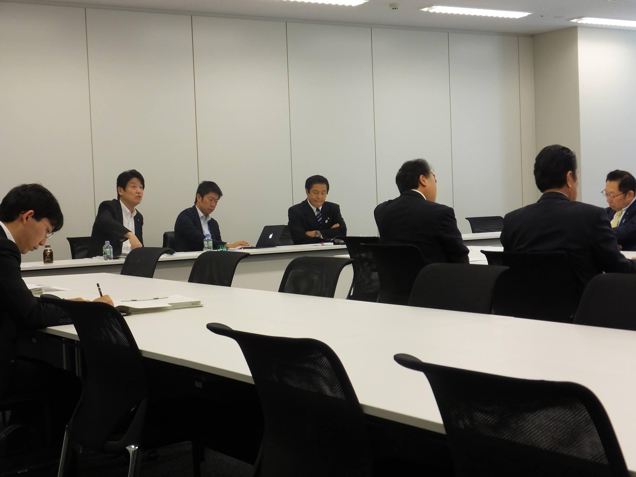2014.10.24 道州経済部会 特定土砂等の管理等に関する法律案(議
